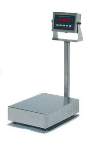Bench scale with optional column