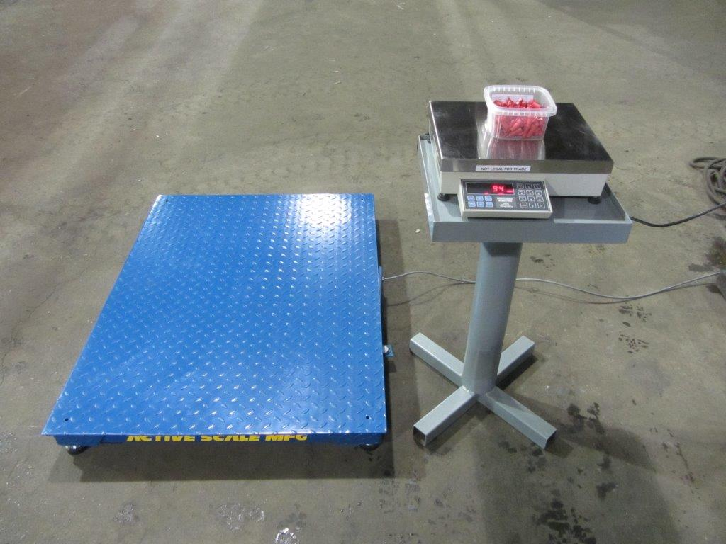 Bulk counting scale