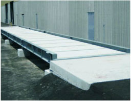 concrete side rail truck scales